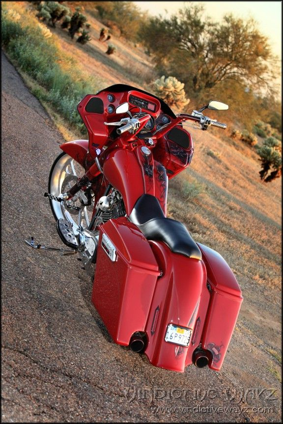 Vindictive Wayz   Custom Baggers By Sinister Industries. CLICK THE IMAGE or…