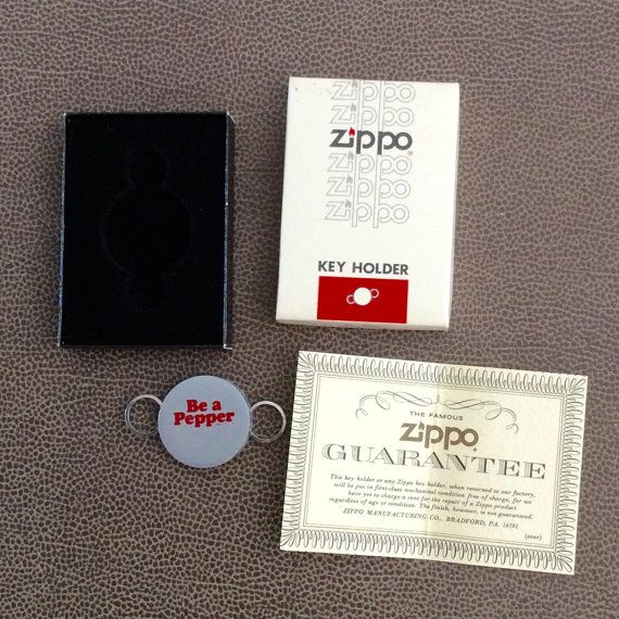Dr Pepper 1977 Be A Pepper Vintage Zippo