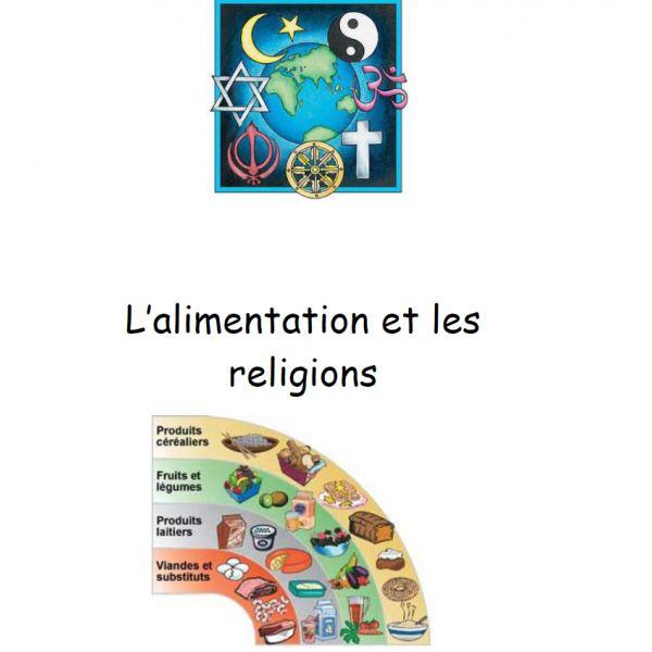 Coffret alimentation et religion