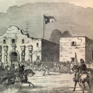 On this day in 1836 - the Battle of Alamo - after a 13 day siege by an Army of 3000 Mexico troops, 187 Texas volunteers, including Davy Crockett and Jim Bowie, are killed and the Alamo is captured