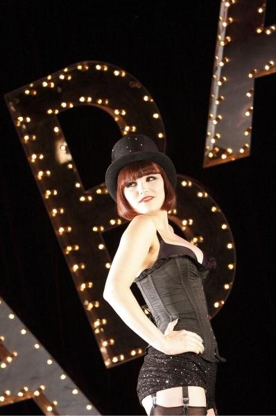 Samantha Barks as Sally Bowles in Cabaret