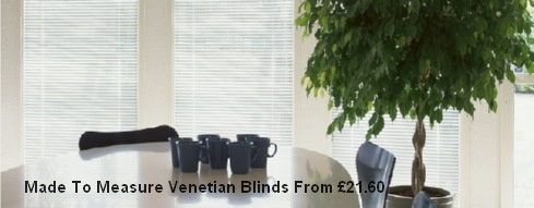 Made to measure venetian blinds. Manufactured in our own factory using the latest machinary, our 25mm Aluminium venetian blinds are excellent value for money. We only use slat from the best European suppliers, all our bespoke venetian blinds come with slim line headrails, quality wands and coordinating cords and ladders. Easy to fit and in a range of stylish colours, prices start at just £21.60. Buy Now And Save!