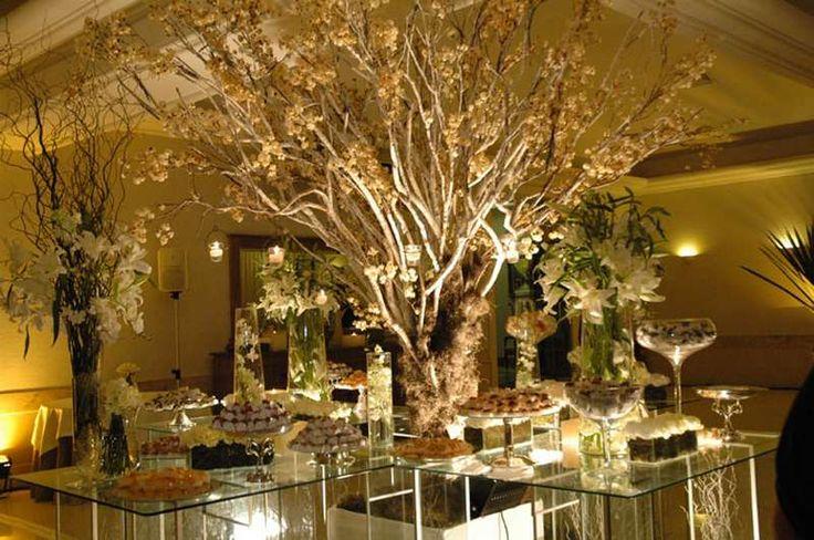 <h5>Árvore Francesa em decoração de casamento.</h5>