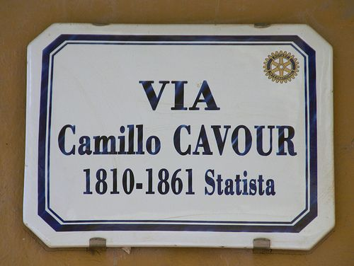 Piemonte Alba, Via Cavour