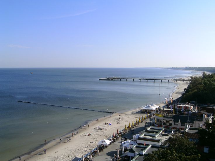 #Kolobrzeg - widok z latarni - 100 km wybrzeżem Bałtyku - http://www.turisticus.pl/100-km-wybrzezem-baltyku-relacja/