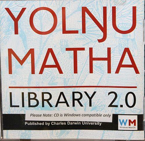 YOLNGU MATHA LIBRARY 2.0 CDROM [FOR WINDOWS ONLY] - Charles Darwin University Bookshop