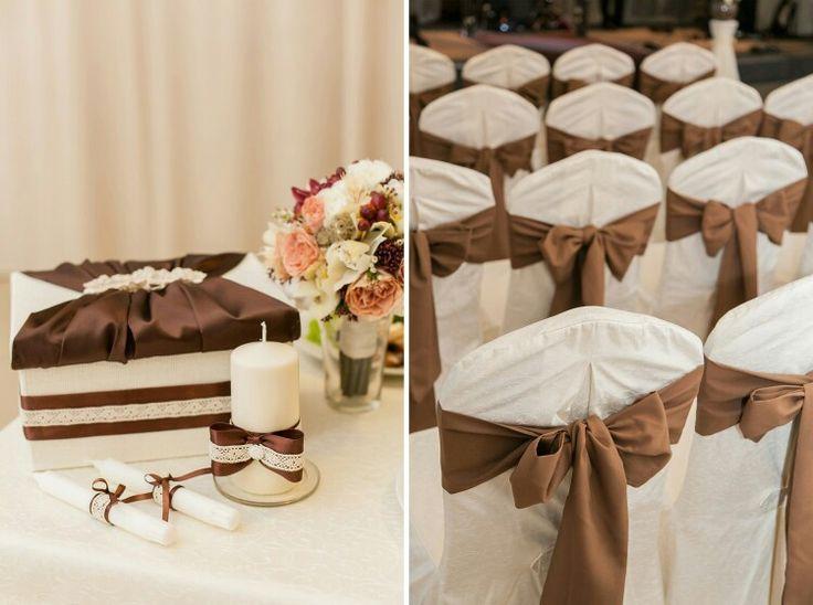 Наша сладкая шоколадная свадьба)