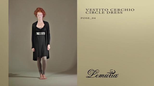 LEMURIA - VESTITO CERCHIO / CIRCLE DRESS by Lemuria. WWW.LEMURIASTYLE.COM