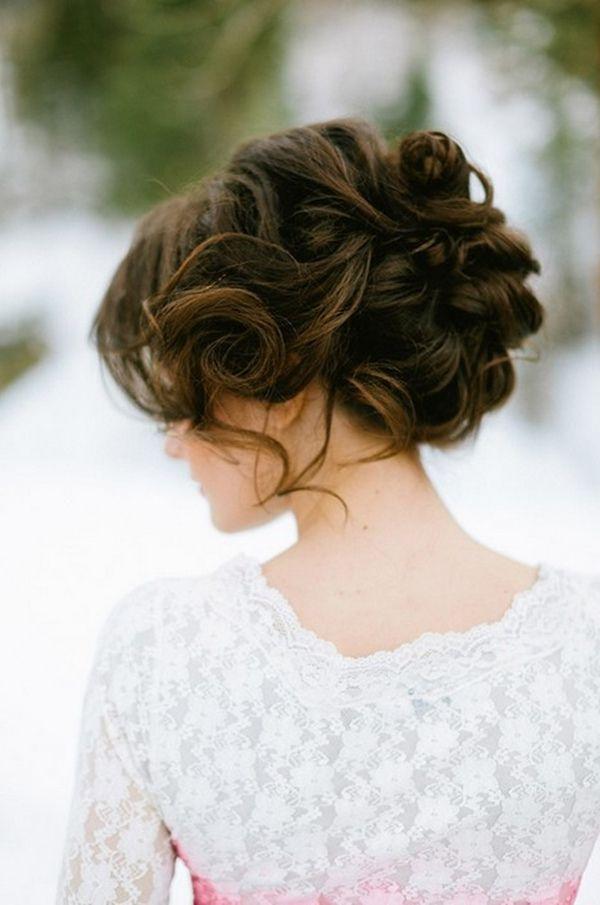 drop-dead updo ideas for winter wedding
