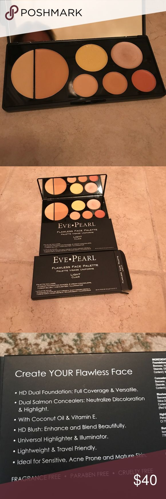 Eve Pearl Flawless Face Palette Light Brand New. Fantastic Product Eve Pearl Makeup