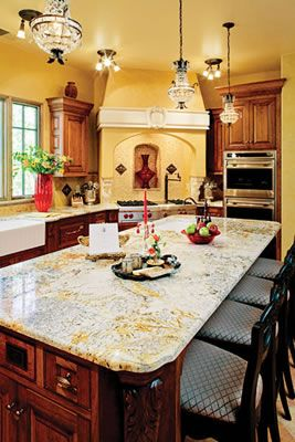Kitchen Honors Spanish Style Kitchens Massive Kitchen The Room Scale