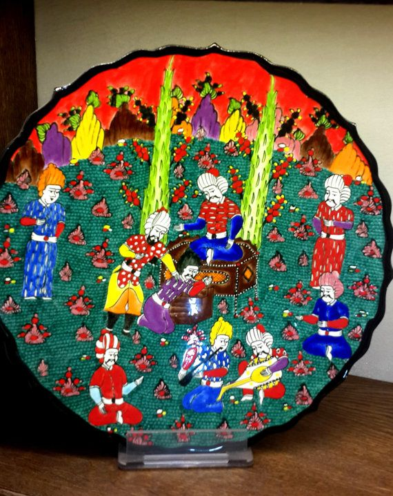 Check out this item in my Etsy shop https://www.etsy.com/listing/213170798/valentines-day-hand-painted-iznik