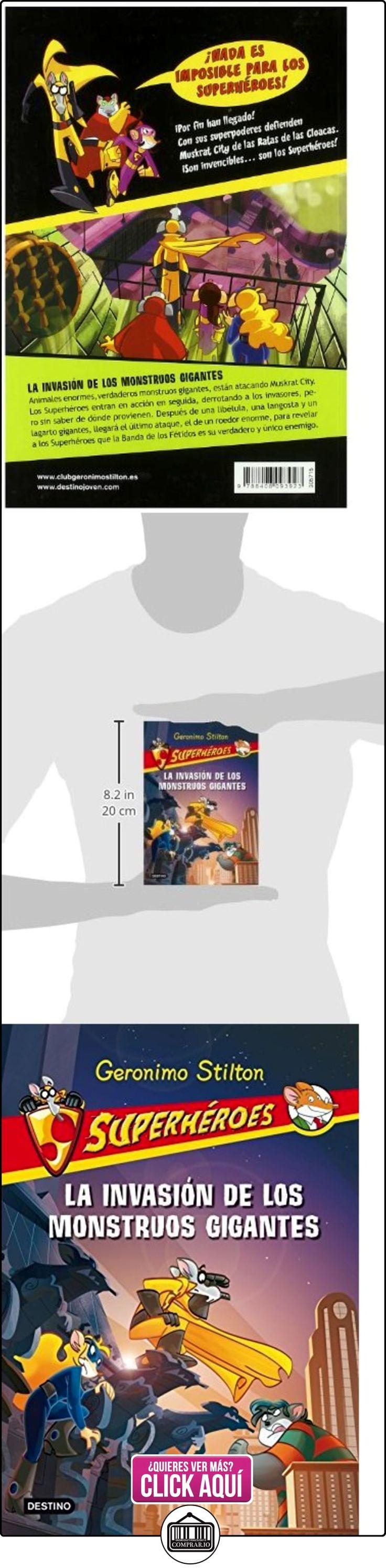 Stilton: superhéroes 2: la invasión de los monstruos gigantes Geronimo Stilton ✿ Libros infantiles y juveniles - (De 6 a 9 años) ✿ ▬► Ver oferta: http://comprar.io/goto/8408093924