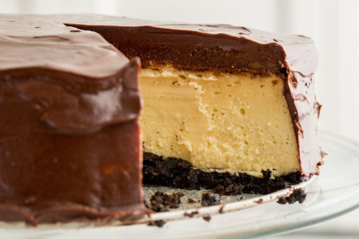 fudgy baileys cheesecake  | delish