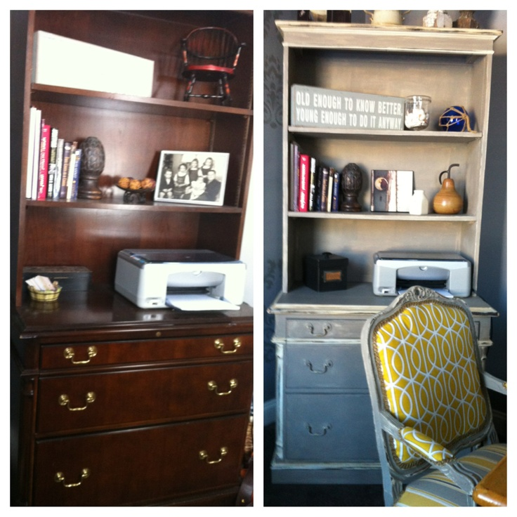 Before And After W Annie Sloan Paint