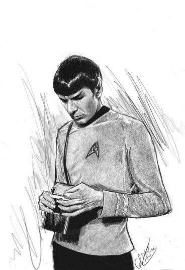Spock. Why is he so beautiful??