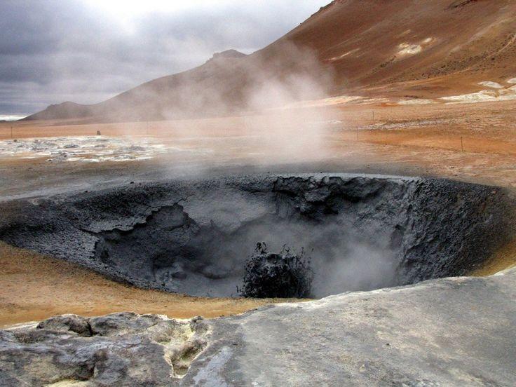 Islanda:Namaskard s olfatare Hverir