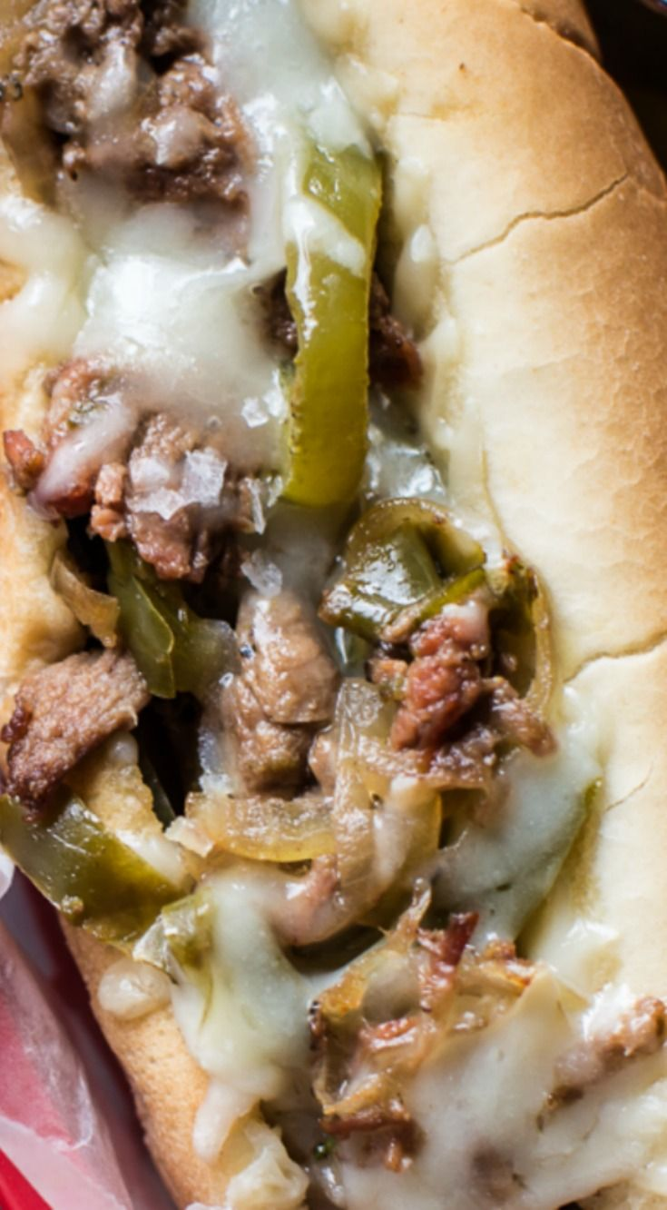 Crockpot Philly CheeseSteaks Recipe