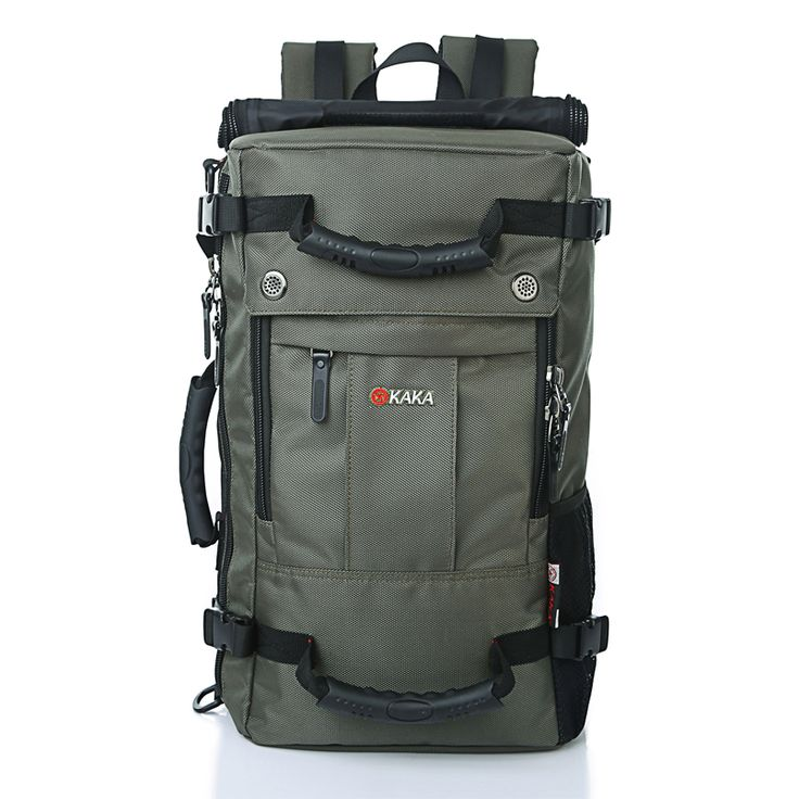 Backpacks. Brand Large-Capacity Laptop Backpack Men Messenger Casual Shoulder Bag Computer Backpack Functional Women Travel Versatile Bags. #Backpacks