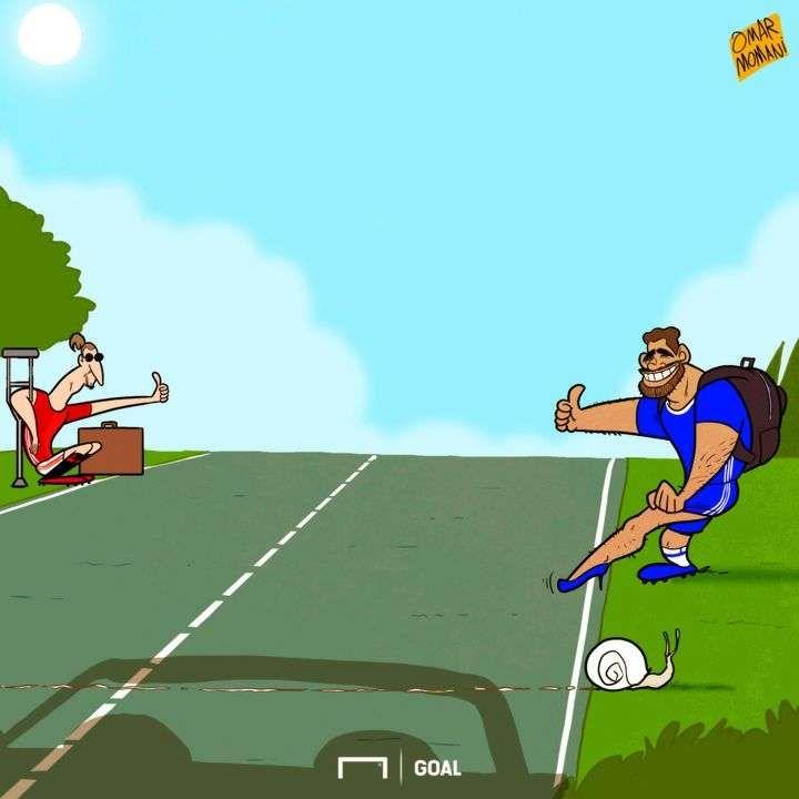 10 DE JUNHO l Não ficarão em Manchester United e Chelsea! Zlatan Ibrahimovic e Diego Costa já procuram um novo clube - Goal.com