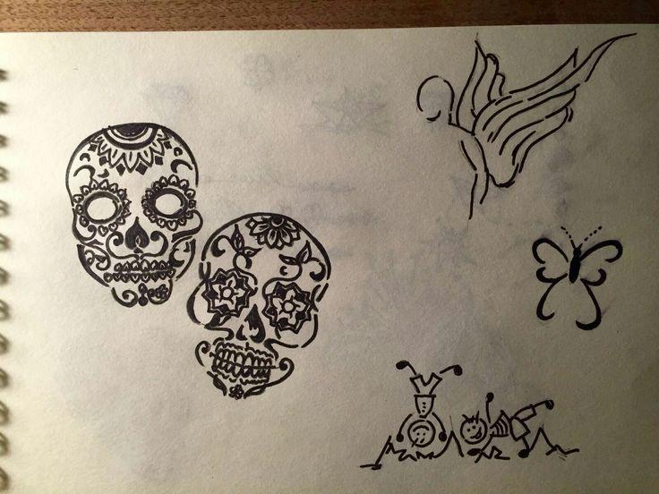 Tattoo#Nadelgoehr#selfmade#Skizzen