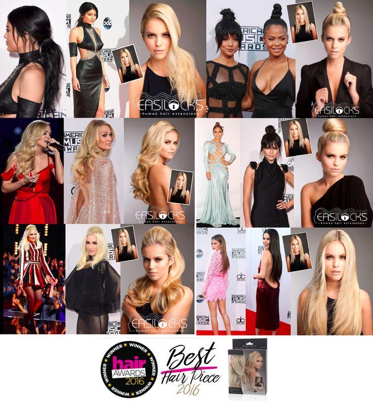 Top Female Celebrities wear extensions #easilocks