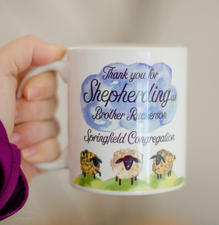 JW | Custom Thank You Mug | Elder's Gift | Present | Thank you for shepherding us | Isaiah 32:2 | Jehovah's Witnesses | Pioneer Gift by AllThingsEverAfter on Etsy