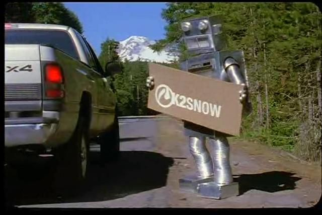 RobotFood - Snowboard Afterbang 2002 by Artemiy Lance