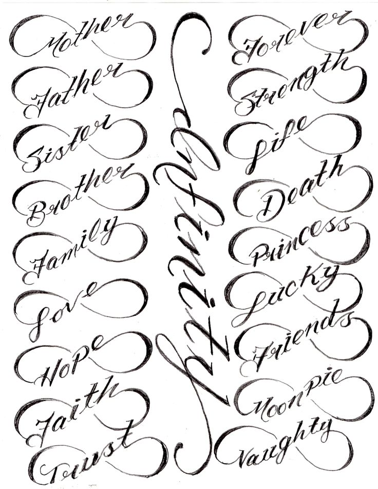 I would want this type of tattoo on the inside of my wrist saying my daughters name.