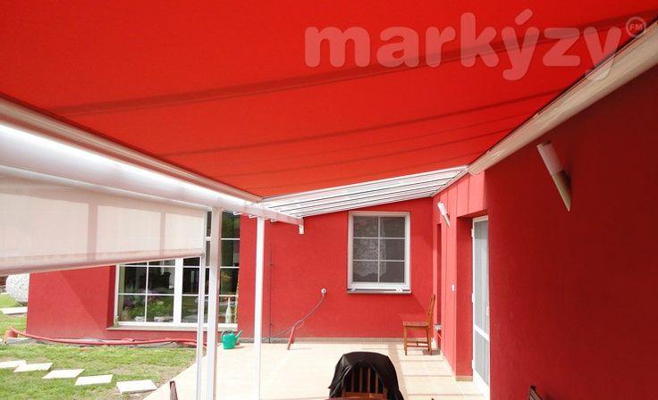 Venkovní markýza pro zimní zahradu, pro montáž pod sklo [Maxilux]