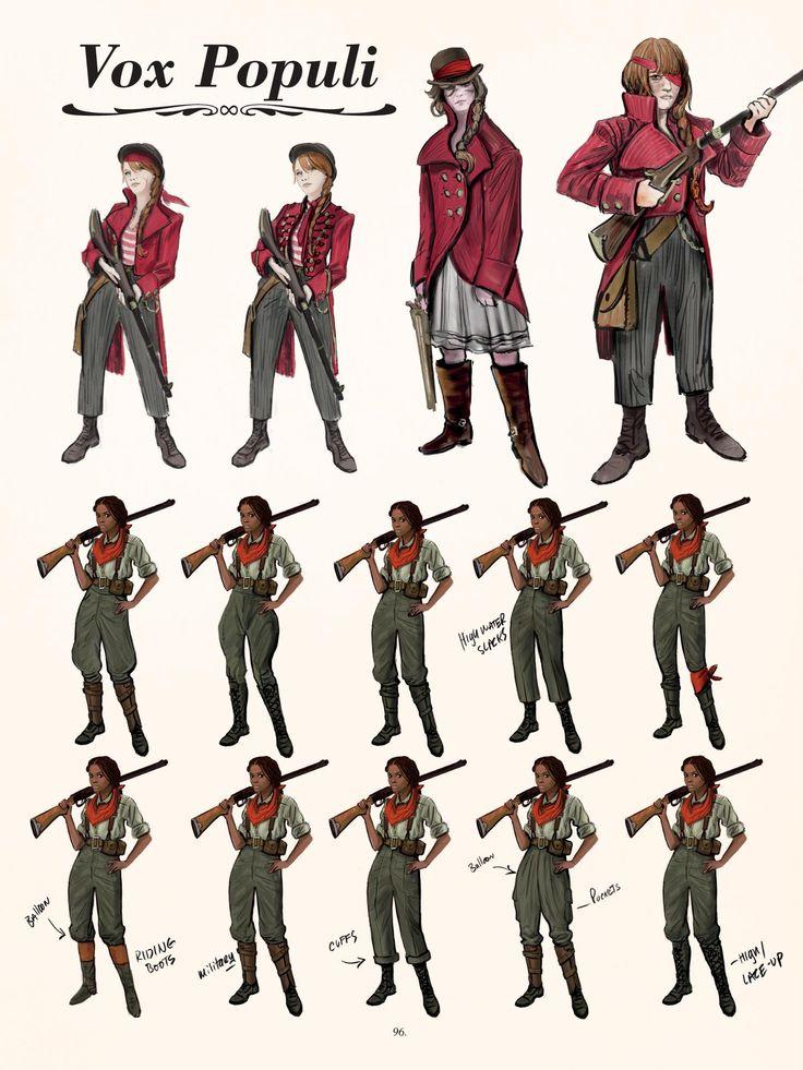 Bioshock Infinite: Daisy Fitzroy and Citizens Vox Populi concept