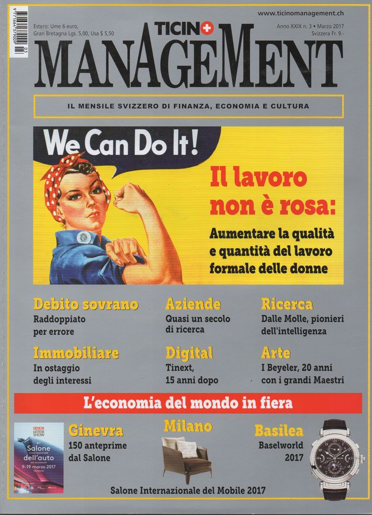 I Vassalletti on Ticino Management Magazine
