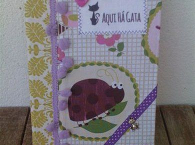 Livro Bugs - Aqui Há Gata www.aquihagata.com/pt/livros-de-notas