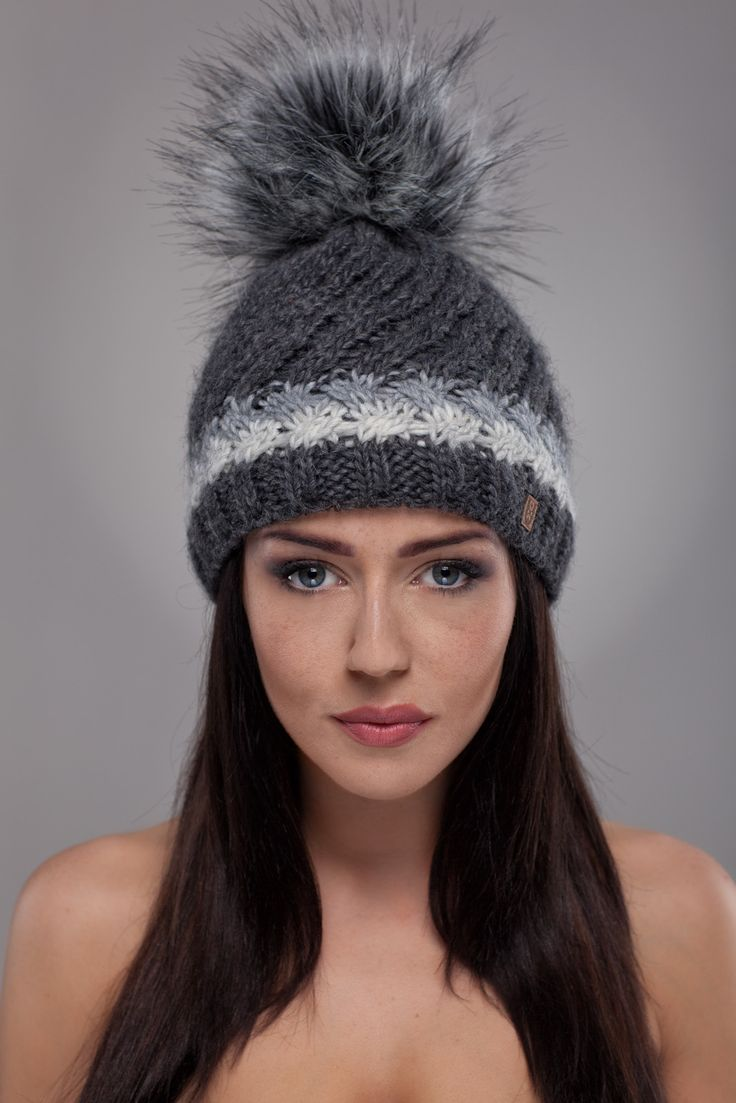 Ulter czapki - Model 31 #ulter #caps #woll #winter #inspiration #fashion
