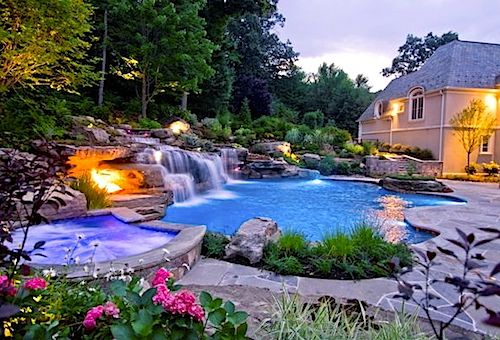 wwwfacebook/leovandesign #garden #backyard #pool
