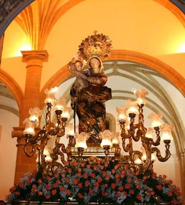 Virgen de las Maravillas patrona de Cehegin