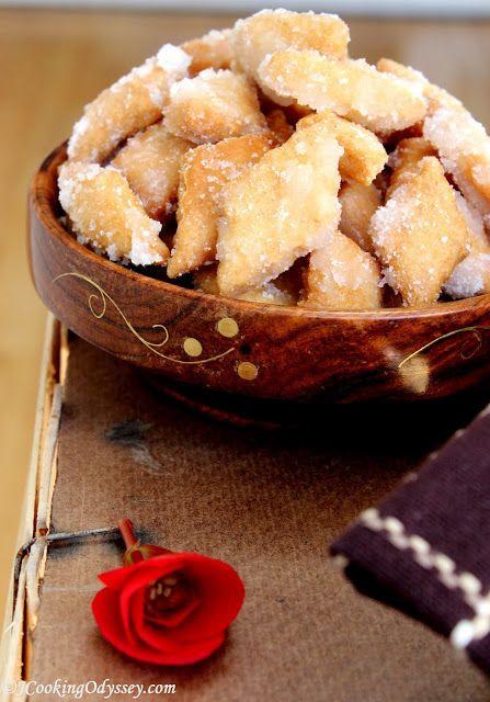 Shakkarpara - Sugar Coated Diamond Crispies