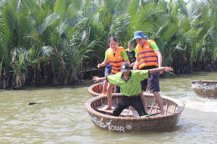 Work like a Captain, play like a pirate. #VietnamSchoolTours #EcoTour