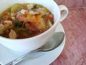 http://vegetarian.about.com/od/soupsstewsandchili/r/Easy-Homemade-Vegetable-Soup.htm