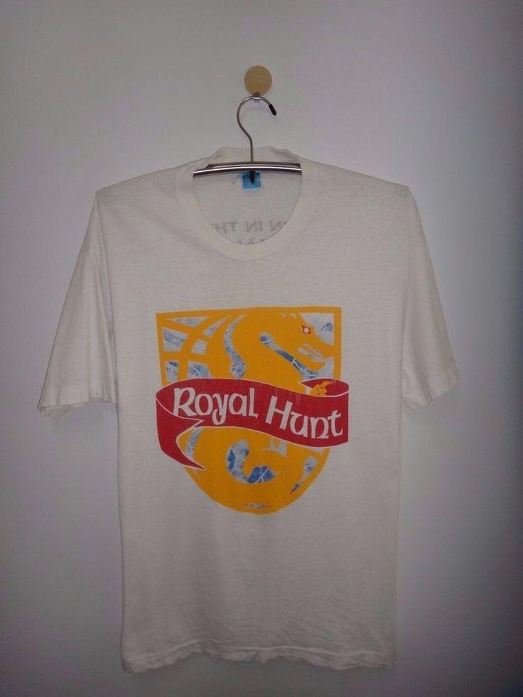 Vtg Royal Hunt Clown in the mirror Japan Tour 1995 T Shirt Progressive Metal Tee #FruitoftheLoom #GraphicTee