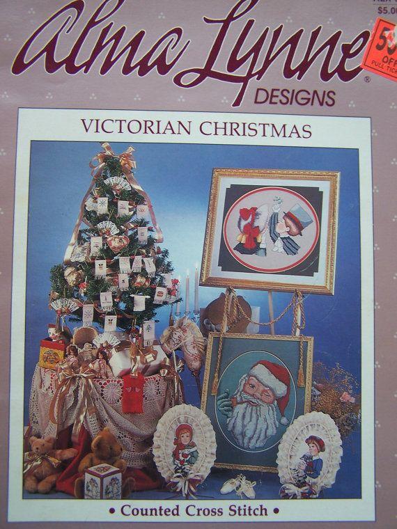 Cross Stitch Pattern Victorian Christmas Alma by WitsEndDesign