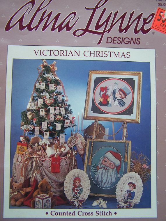 Cross Stitch Pattern Victorian Christmas Alma by WitsEndDesign