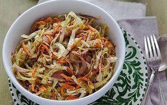 Lebanese Cabbage Salad Recipe - Details, Calories, Nutrition Information | RecipeOfHealth.com