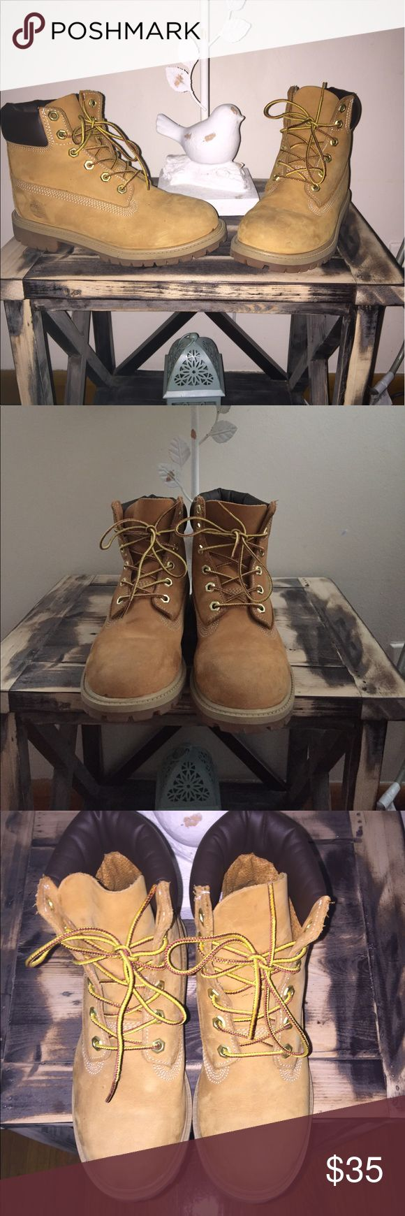 Kids timberland boots Kids timberland boots size 4.5 big kids. Great condition.... youth size Timberland Shoes Boots