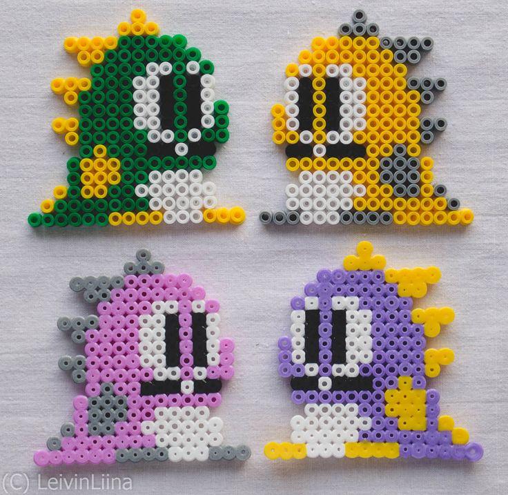 Bubble Bobble - Hama Beads
