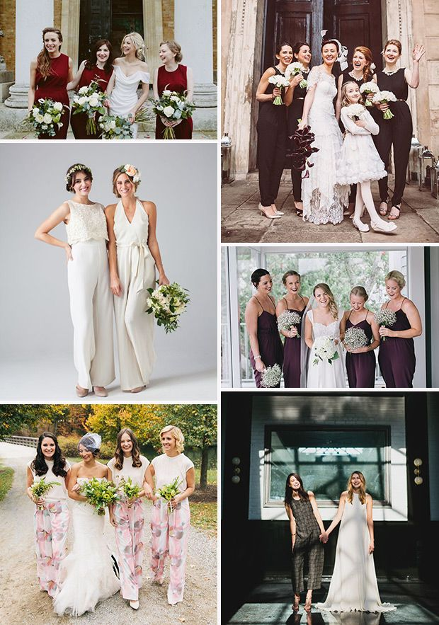 Something Different: Bridesmaids In Jumpsuits | Bridesmaid ...
