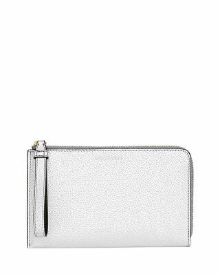 a671f37cc7d Burberry Designer Nolan Metallic Leather Wallet Metallic Leather, Purse  Wallet, Women Accessories, Leather