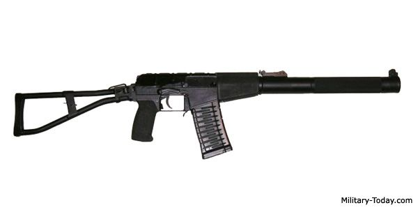 AS Val Silenced Assault Rifle | Military-Today.com