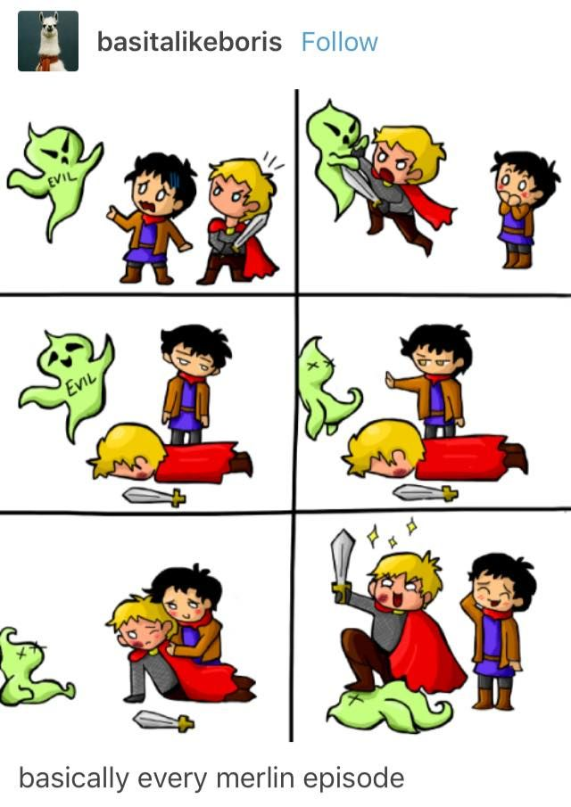 Merthur is beautiful and I'm still sad that they never kissed.
