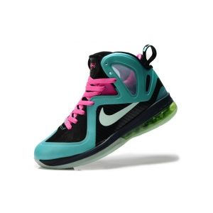 outlet store 185d1 0fe66 Ships in original box  Nike LeBron 9 Mens South Beach Black Pink Basketball  Shoes for Sale